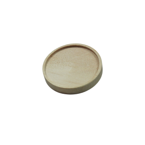houten Broche om te graveren met brandpen