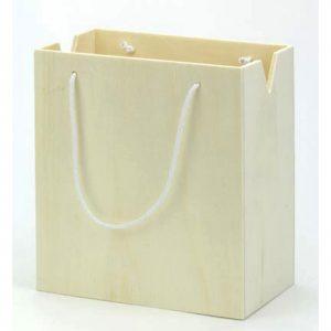 houten cadeautas als kadoverpakking
