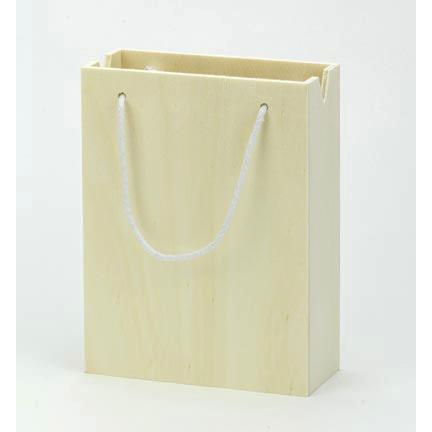 kleine houten cadeautas als kadoverpakking