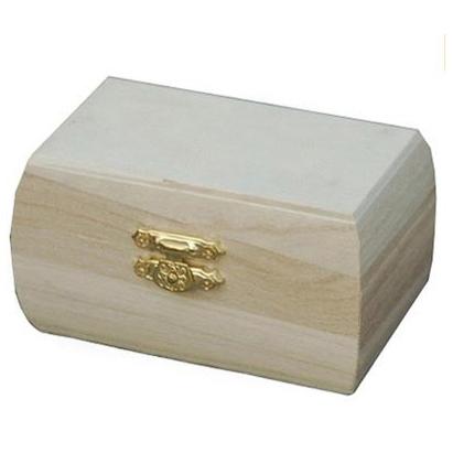 Houten kistje voor houtbranden of graveren met brandpen