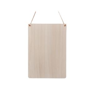 Spreukbord rechthoek staand voor houtbranden of graveren met brandpen