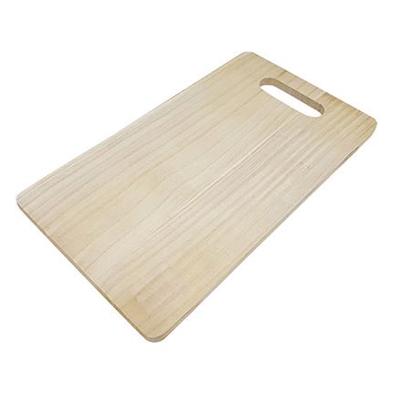 houten snijplank voor houtbranden of graveren met brandpen