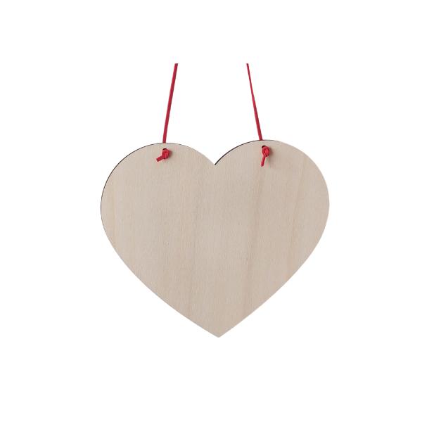Spreukbord hart voor houtbranden of graveren met brandpen